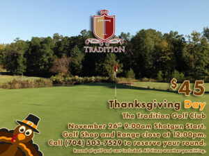 Thanksgiving Day at The Tradition Golf Club
